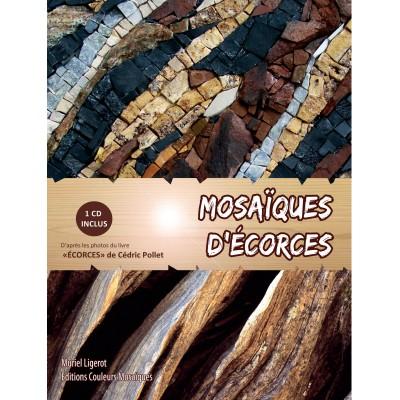 """Livre """" Mosaïques d'écorces """" avec CD"""