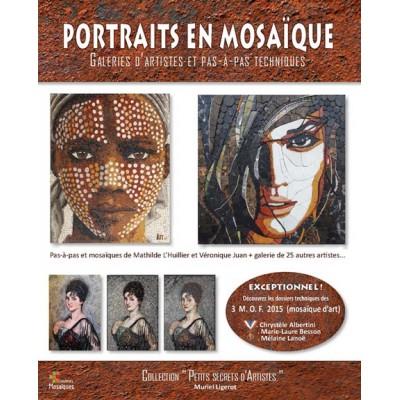 """Livre """" Portraits en mosaïque """""""