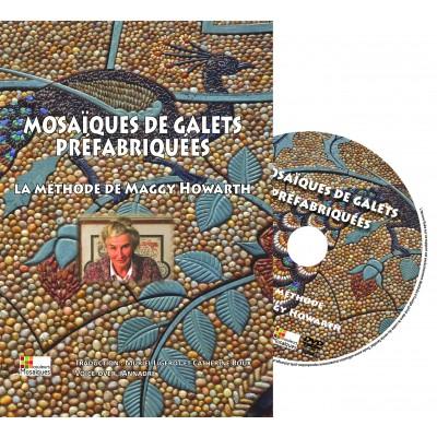"""DVD """" Mosaïque de galets en dalles préfabriquées """" par..."""