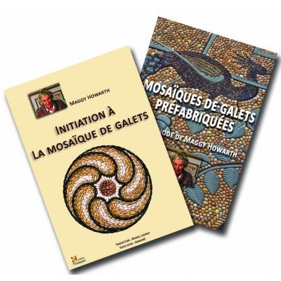 """copy of DVD """" Mosaïque de galets en dalles préfabriquées..."""