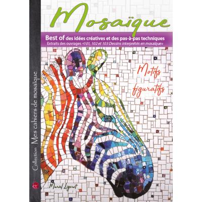 """Livre """" Mosaïque - Motifs figuratifs """""""
