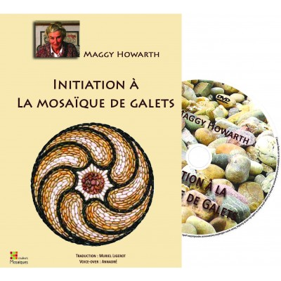 "DVD ""Initiation à la mosaïque de Galets "" par Maggy Howarth"