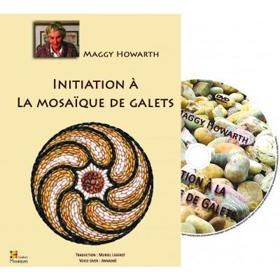 """DVD """"Initiation à la mosaïque de Galets """" par Maggy Howarth"""
